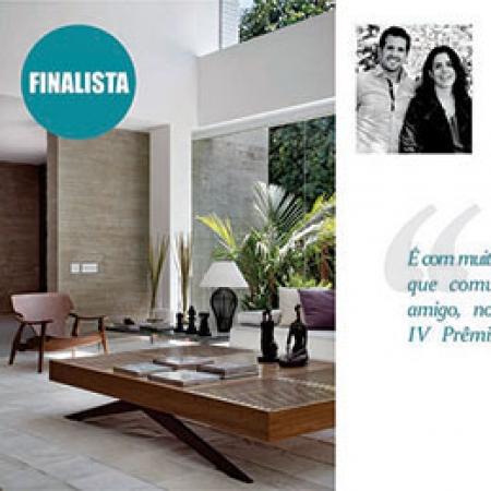 Finalista IV Prêmio Casa Claudia
